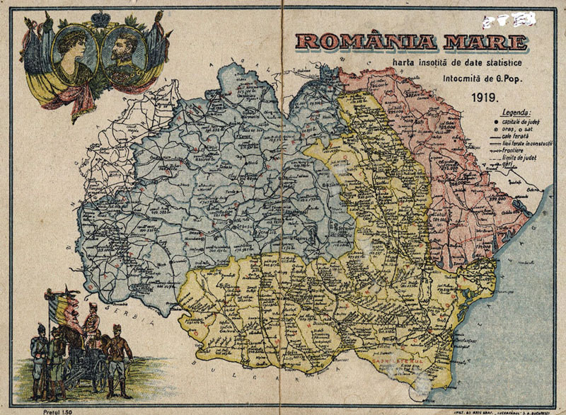 Democratic Greater Romania Emerges From The War The Making Of